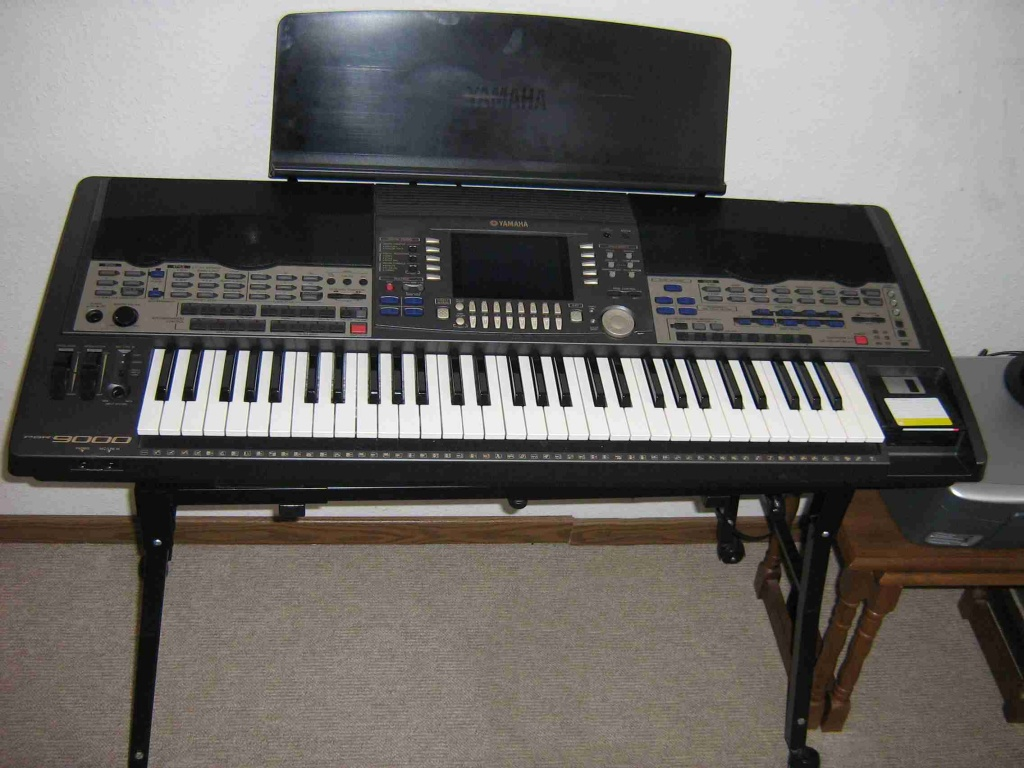 verkaufe mein yamaha psr mit festplatte neuanschaffung keyboard. Black Bedroom Furniture Sets. Home Design Ideas